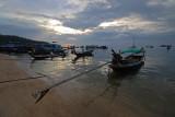 Long tail boat in Koh Tao