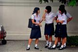 School girls in Bangkok