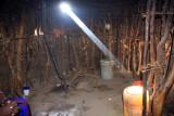 Masai wife's hut