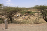 Site of a well