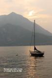Sunset in Varenna  (Lake Como)