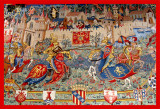Tapestry for sale - Eze, France (2007)