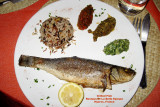 My delicious dinner in Hyeres (2008)