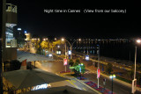 View from our hotel balcony - Cannes (2007)