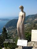 Statue in Jardin Exotique - Eze (2007)