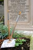 Pissarro's grave