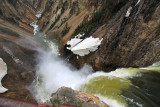 Brink of Lower Falls - Grand Canyon