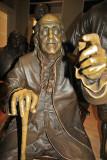 Ben Franklin at Constitution Center