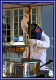 Stirring the Kettle Corn