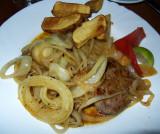 Steak In Onion Sauce