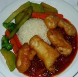 Tempura Fresh Fish Sweat & Sour