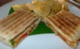 Grilled Chcken-Tomato-Parmesano Paninis