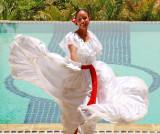 Dancer During Mothers Day Celebration