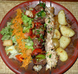 Beef & Chicken Brochette