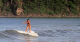 Surfing in Bay of San Jaun del Sur