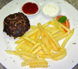 Black Angus Burger