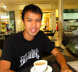 Coffee at the Tomato Coffee Bar