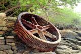 Steamboat Wheel on Morro Island