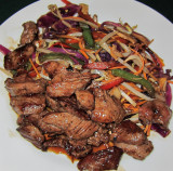 Wok Beef with Veggies and Mushrooms