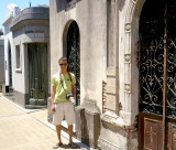 Visiting the Recoleta Cemetary