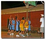 Basketball In Nicaragua Under The Stars