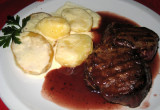 World famous Argentine steak