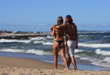 Fun On The Beaches Of Punta del Este, Uruguay