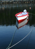 Red and White Boat 004