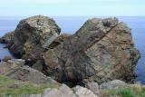 Rock formation on Cape Bonavista