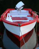 Red and White Boat 005