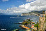 view of the Bay of Naples from Sorrento