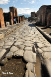 wheel ruts in the stone streets