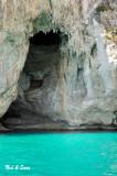 cave along Capri  coast