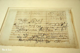 original musical score - Beethoven house