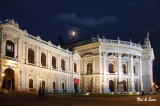 moon over the Burgtheater