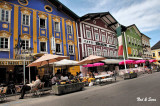 outdoor dining in Mondsee