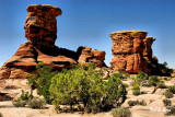 rock formation  in Canyonlands N.P.