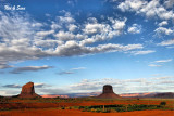 clearing skies early morning - Monument Valley