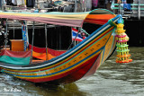 no evil spirits on this colorful longtail boat