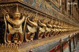 golden garudas - Grand Palace