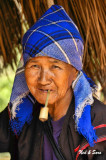 old woman with pipe