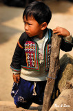 boy in traditional jacket
