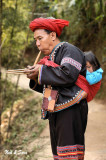 flute player and child
