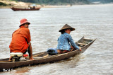 boat traffic on the Mekong