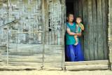 Khmer village house