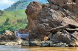 fishing along the Mekong