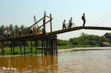 Tonle Sap inlet drawbridge