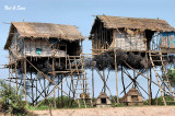 stilt houses and  fish traps