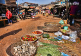 street market in Tonle Sap fishing village