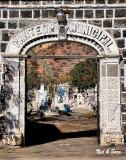 the municipal  cemetery in Mulege